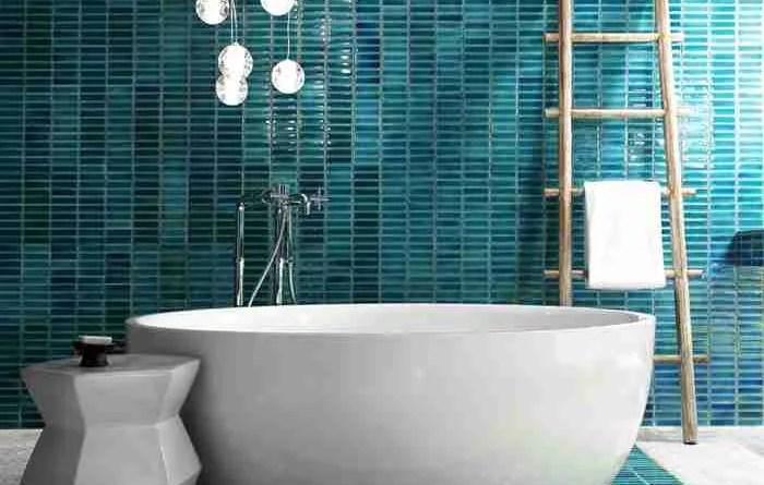 bathroom trends avoid bohemian style glass mosaic tiles