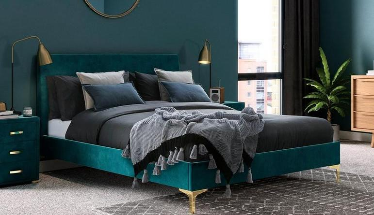 251 00285 main shot 01 prestwood upholstered bed frame How to Style your Bedroom