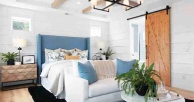 Modern Coastal Farmhouse Decor Master Bedroom Market to Interior Designers