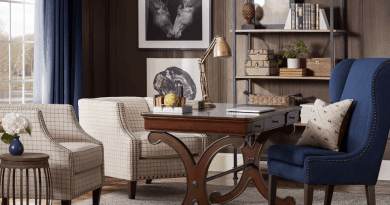 wooden walls traditional home office with bookshelf way 020818 Decorating Your Home Office