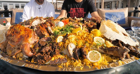 28.Whole stuffed camel Foods You Most Try When in UAE