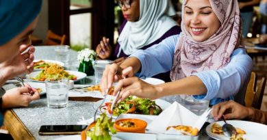 Arab woman eating together 1024x640 1 The Best Places in The World to Travel for Christmas