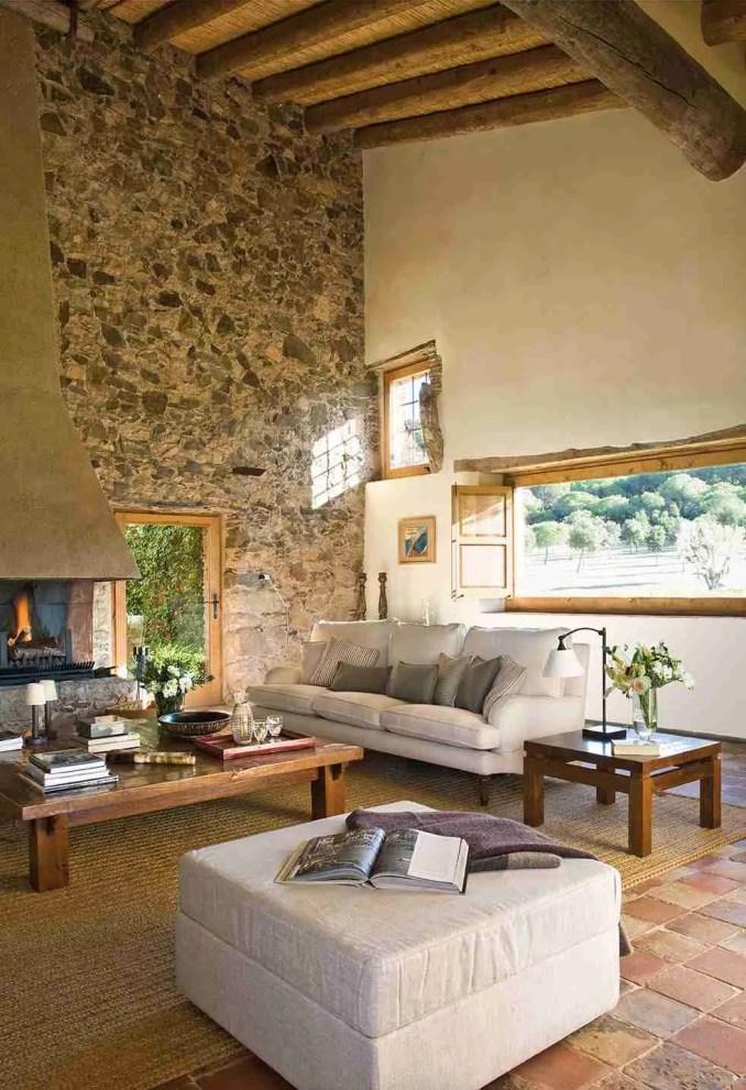 Mediterranean Farmhouse, Rustic Luxury Interior Design
