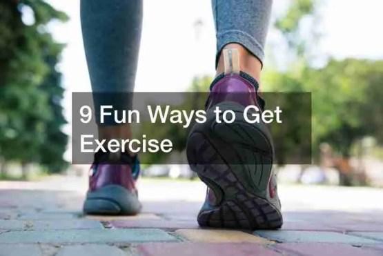 1 fun Ways to Exercise