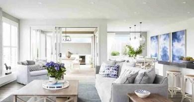 hamptons living room ideas slip cover sofa Feel Cozy and Safe