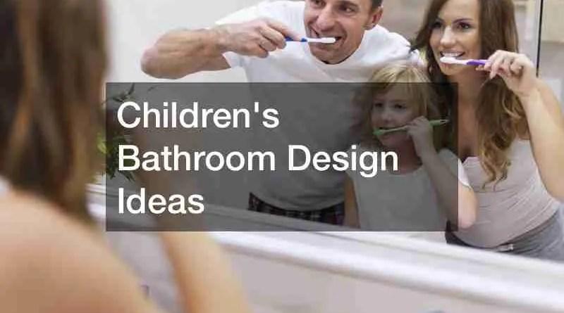 Childrens Bathroom 1 Children's Bathroom Design Ideas