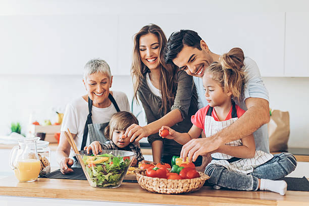 family cooking Make You Physically Healthy