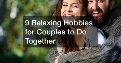 Relaxing Hobbies 1 Active Date Ideas