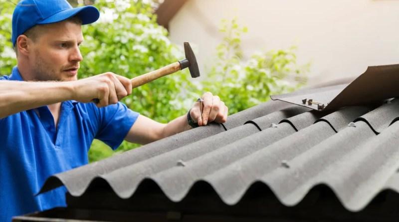 Blue Brushstroke Moms Influencer Asymmetry Facebook Post Set 3 1 Types of Roof Damages