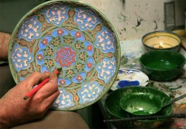 persian pottery Persian Décor to Your Home