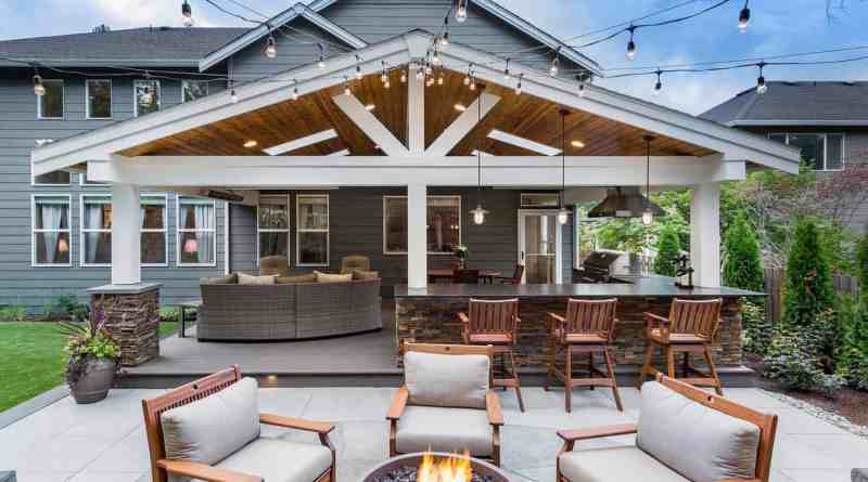 Beautiful Outdoor Living Spaces 07 1 Kindesign Turn Your Backyard