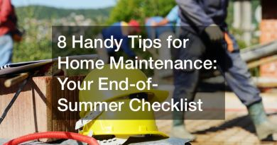 Handy Tips for Home Maintenance