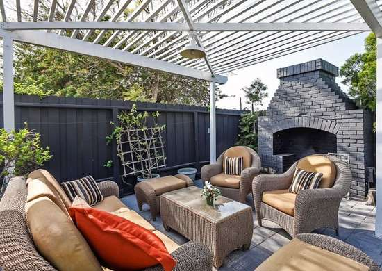 outdoor lounging Types of Patio Materials