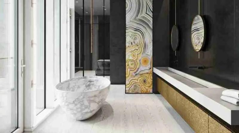 118665 axis mundi portfolio interiors bath 1568150452 Luxurious London Home