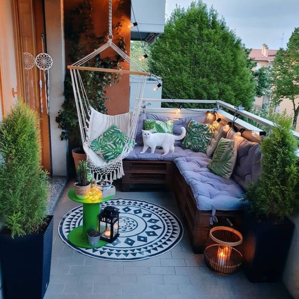 11 Balcony Ideas for the Staycation of a Lifetime