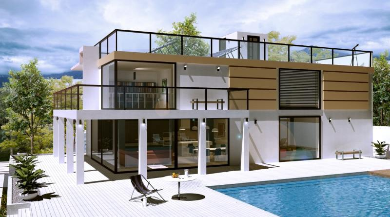 house created in live home Best 3D Rendering Company