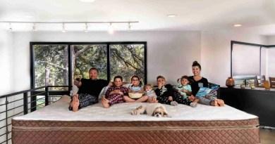 oversized family bed Narrow Bathroom Vanities
