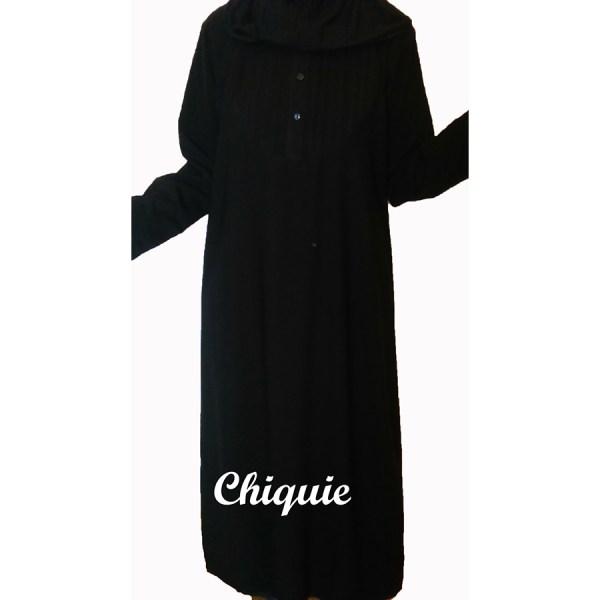 robe marocaine noir