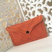 pochette marocaine orange