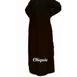 robe marocaine marron
