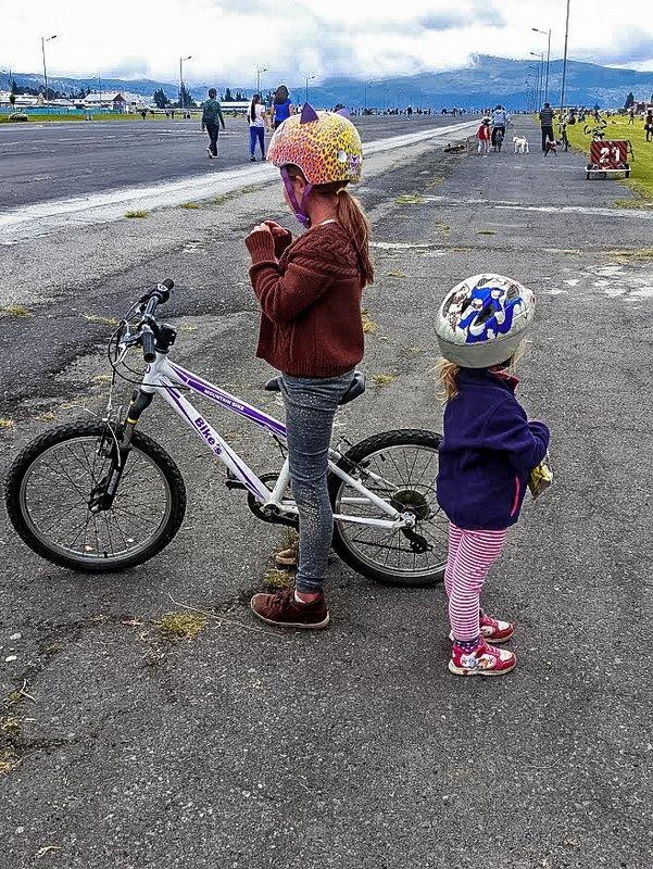 bicicleta niños en quito