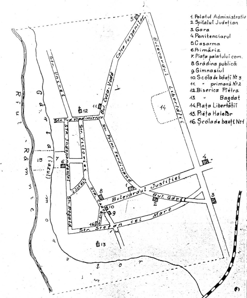 GEOGRAFIA JUDEŢULUI RÂMNICU SĂRAT, 1909 (3/5)