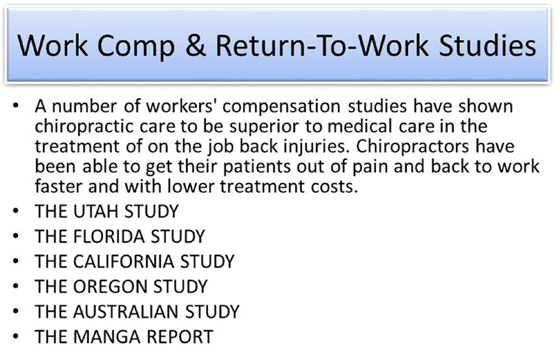 Who Will Have Sustainable Employment After a Back Injury?