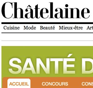 La Santé du dos – Revue Châtelaine