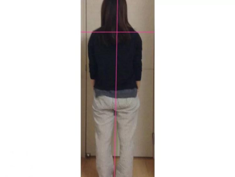 体の傾きが9割軽減され肩こりと腰痛が楽になった