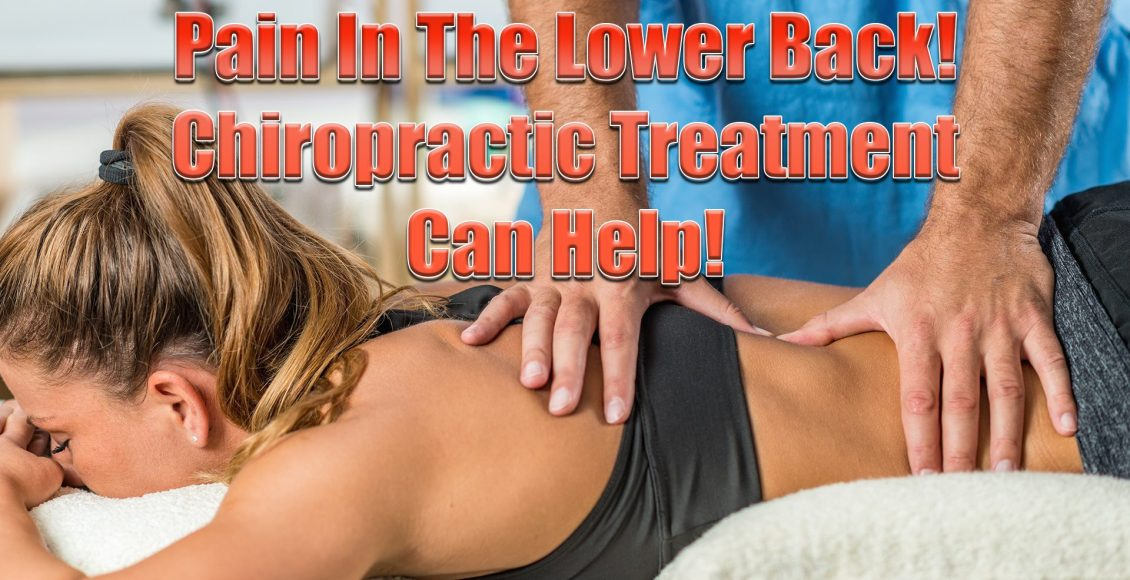 pain in the lower back chiropractic care el paso tx.