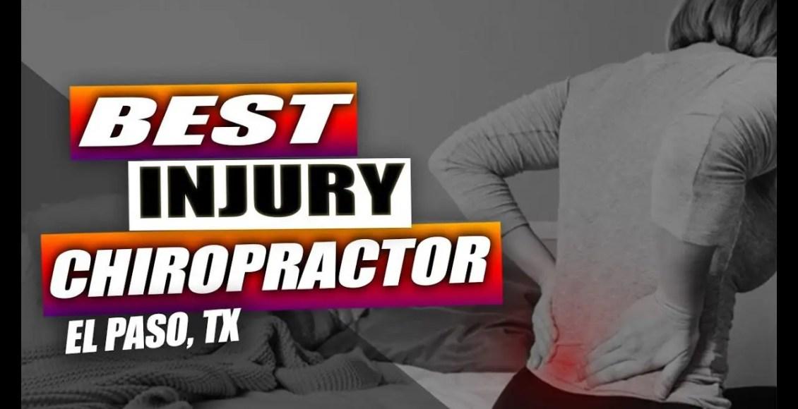 injury medical chiropractic center el paso tx.