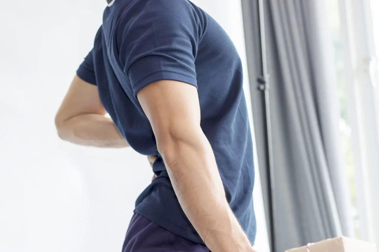 Pérdida de masa muscular por sarcopenia con dolor de espalda crónico