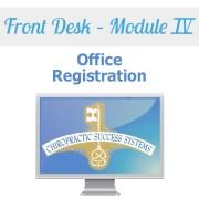Front Desk Module IV