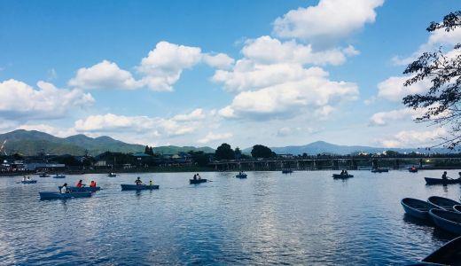 【京都】超混む嵐山の紅葉は手こぎボートから見るのがオススメかも!?