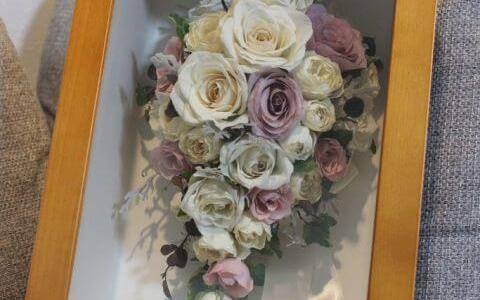 結婚式は一生に一度の思い出!kannax(カナックス)でアフターブーケをお願いしました