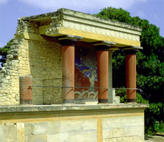 The Palace of Minos, Knossos