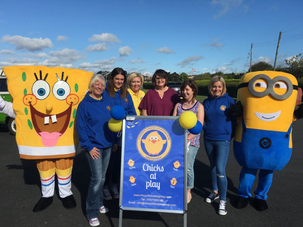 Management, Staff, and Special Guests at Chirpy Chicks Playgroup Ltd Open Day