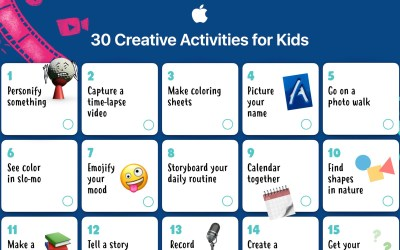 30 Creative Activities for Kids from 