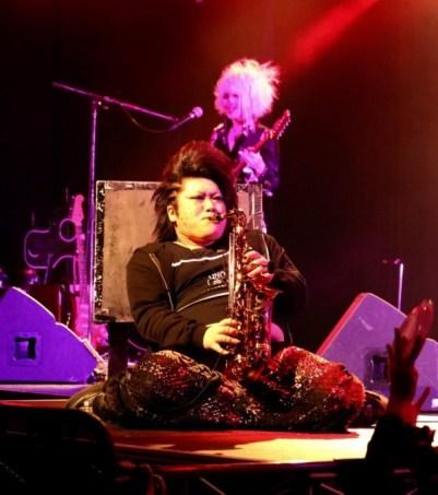 Petit solo de saxophone par Devu
