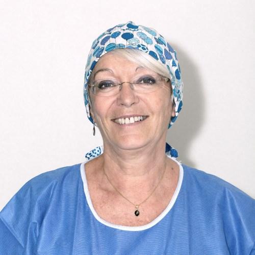 Françoise Marcucci, Infirmière instrumentiste