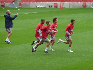 photo credit: Arsenal Training via photopin (license)
