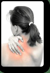 辛い肩こり、首の痛み