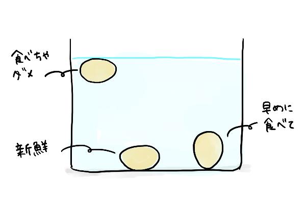 卵 新鮮 見極め方