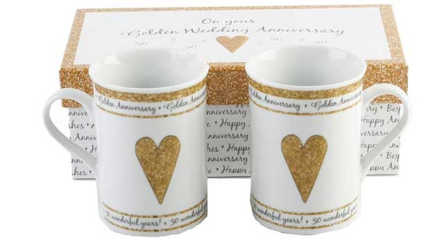 Guide on the Best Twelve 50th Wedding Anniversary Gifts Ideas for ...