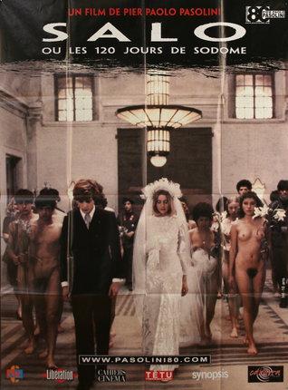 Salo Ou Les 120 Jours De Sodome : jours, sodome, Journées, Sodome, (re-release), Original, Vintage, Poster, Chisholm, Larsson, Gallery