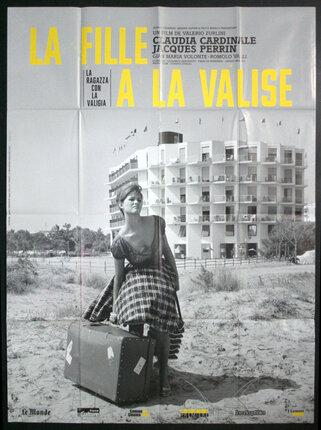 La Fille à La Valise : fille, valise, Fille, Valise, (Re-Release), Original, Vintage, Poster, Chisholm, Larsson, Gallery