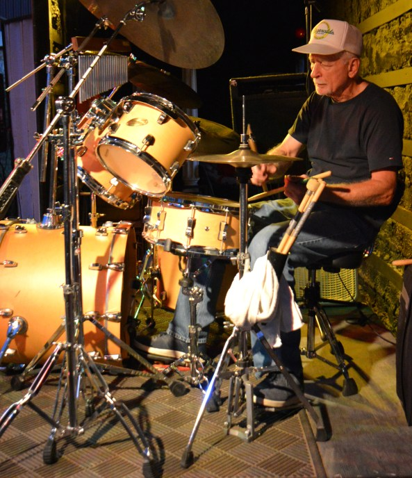 DW Blues Band percussionist Glenn Pfeiffer