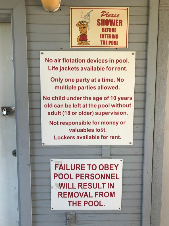 Besides normal pool rules, Olsen Pool visitors are expected to adhere to minimum standard health protocols, including social distancing and limiting groups to 10 people.