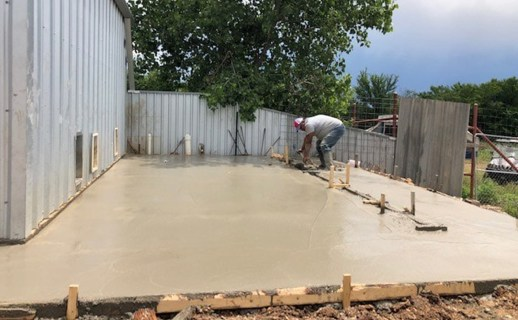BARK has been doing some renovations to the kennels with phase 1 of the project, laying concrete slabs, completed.
