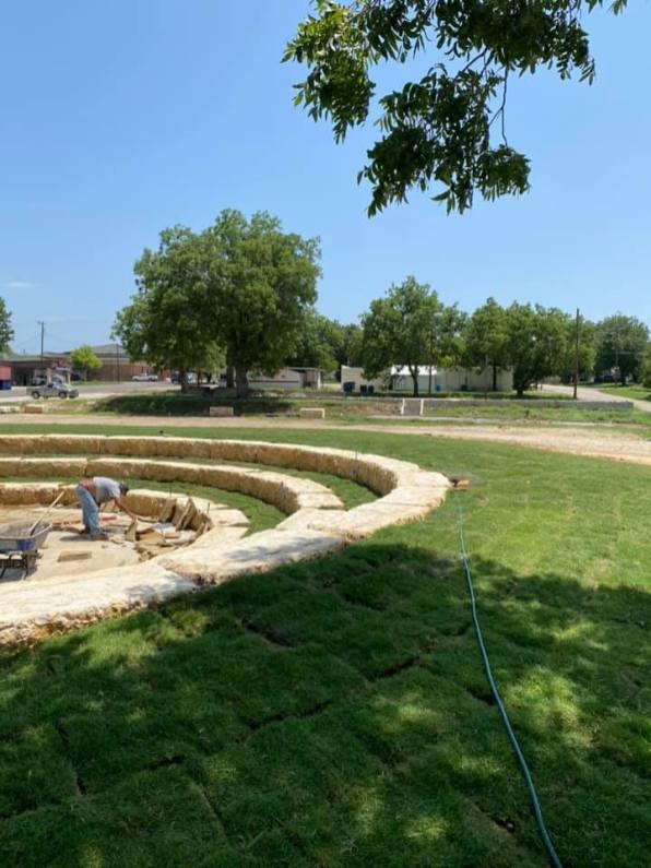 Amphitheatre-Grass
